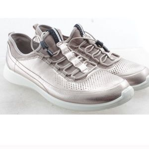 Ecco Women's Metallic Sneakers Speed Laces 41 11